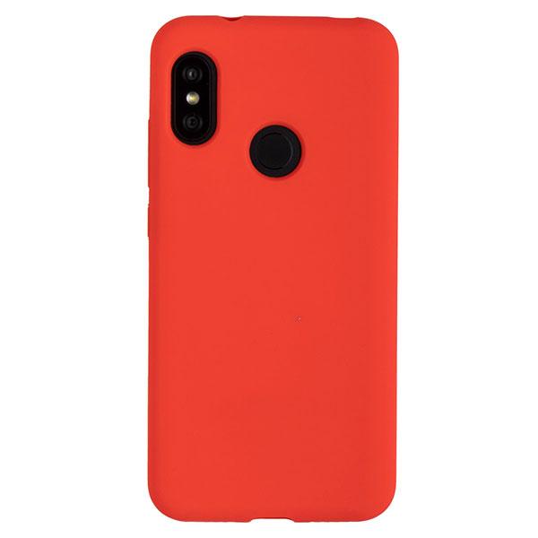 Силиконовый чехол для Mi A2 Lite/Redmi 6 Pro Soft Touch Experts (Красный)