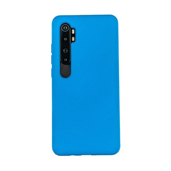 Чехол для Mi Note 10 Lite бампер CASE Liquid (Синий)