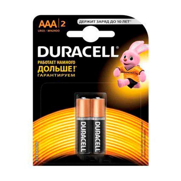Батарейки DURACELL AAA