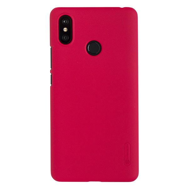 Чехол для Mi Max 3 бампер пластиковый Nillkin (Красный)