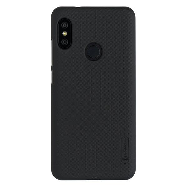 Чехол для Mi A2 Lite/Redmi 6 Pro бампер пластиковый Nillkin (Черный)