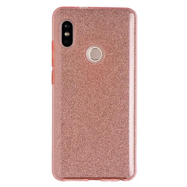 Силиконовый чехол для Redmi Note 5 Experts Diamond (Розовый)