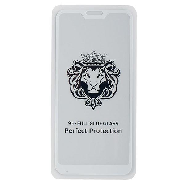 Стекло противоударное для Mi A2 Lite/Redmi 6 Pro CASE Full Glue (Белое)