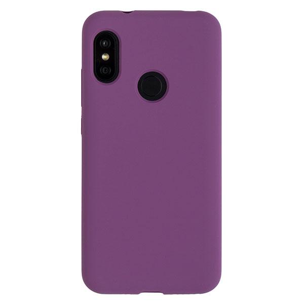 Силиконовый чехол для Mi A2 Lite/Redmi 6 Pro Soft Touch Experts (Фиолетовый)