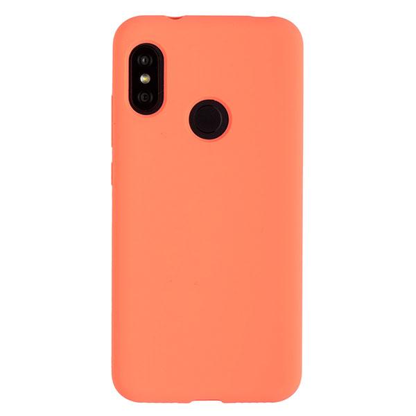 Силиконовый чехол для Mi A2 Lite/Redmi 6 Pro Soft Touch Experts (Розовый)