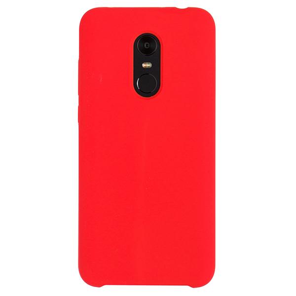 Силиконовый чехол для Redmi 5 Plus Soft Touch Experts (Красный)