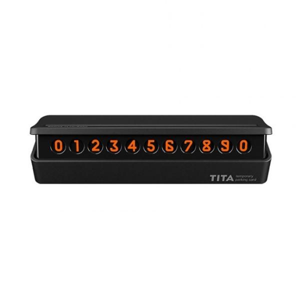 Автовизитка Bcase Tita Mini (Черный)