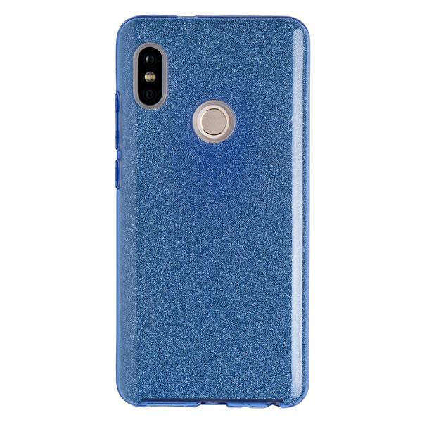 Силиконовый чехол для Redmi Note 5 Experts Diamond (Голубой)