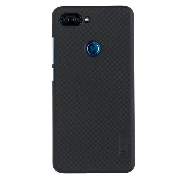Чехол для Mi 8 Lite бампер пластиковый Nillkin (Черный)