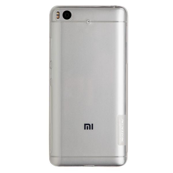 Силиконовый чехол для Mi 5s Nillkin (Прозрачный)