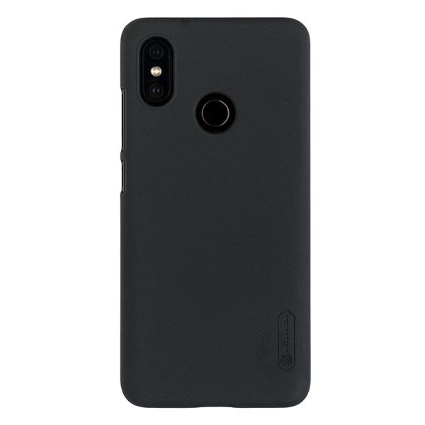 Чехол для Mi 8 бампер пластиковый Nillkin (Черный)
