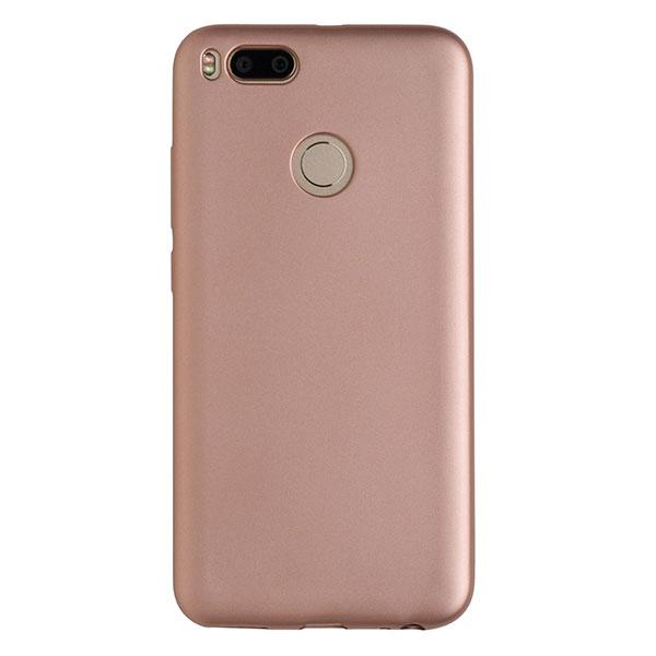 Силиконовый чехол для Mi A1/5x CASE Deep Matte (Розовый)