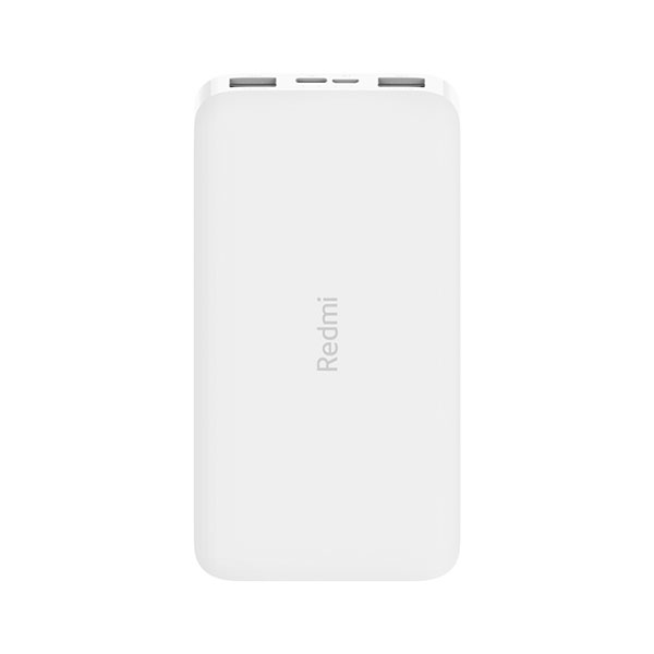 Аккумулятор Redmi Power Bank 10000 мАч (Белый с кабелем)