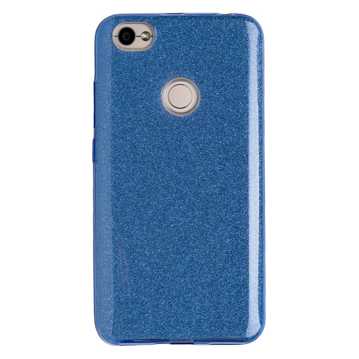 Силиконовый чехол для Redmi Note 5As Experts Diamond (Голубой)