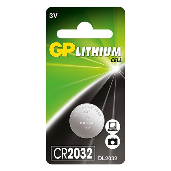 Батарейка GP Lithium CR2032 BP