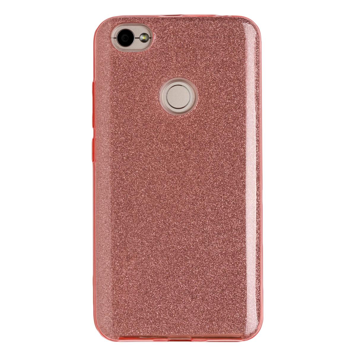 Силиконовый чехол для Redmi Note 5As Experts Diamond (Розовый)