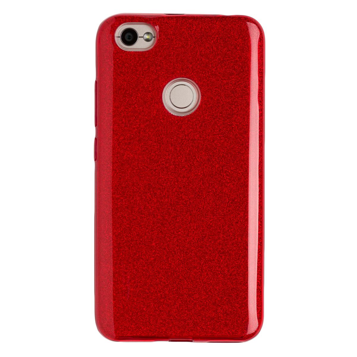 Силиконовый чехол для Redmi Note 5As Experts Diamond (Красный)