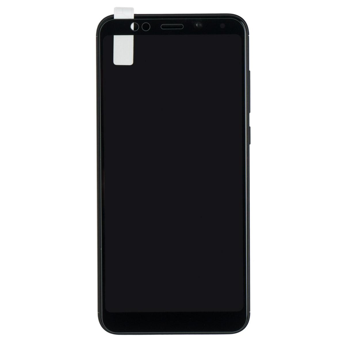 Стекло противоударное для Redmi 5 CASE Full Glue (Черный)