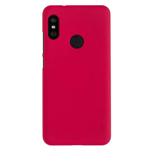 Чехол для Mi A2 Lite/Redmi 6 Pro бампер пластиковый Nillkin (Красный)