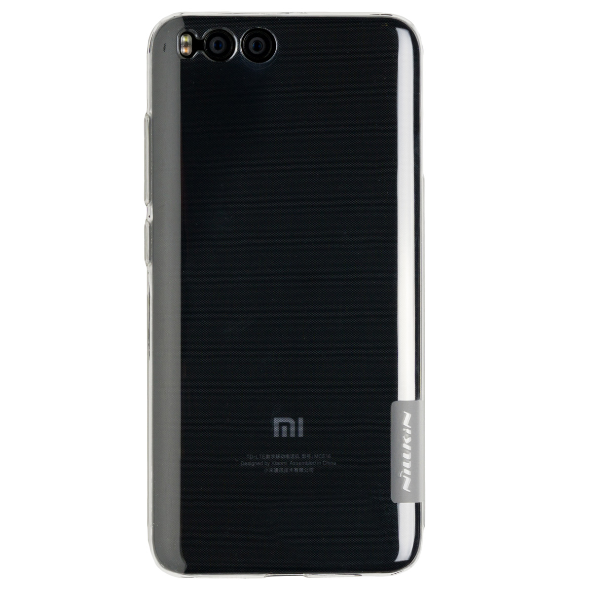 Силиконовый чехол для Xiaomi Mi 6 Nillkin (Прозрачный)