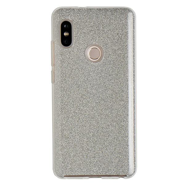 Силиконовый чехол для Redmi Note 5 Experts Diamond (Серебристый)