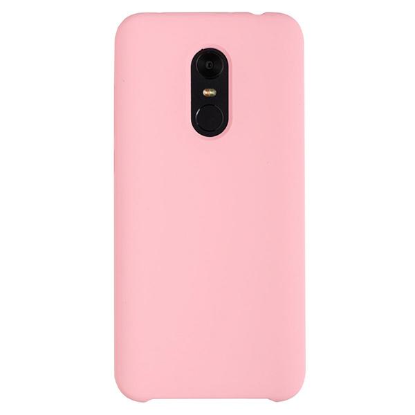Силиконовый чехол для Redmi 5 Plus Soft Touch Experts (Розовый)