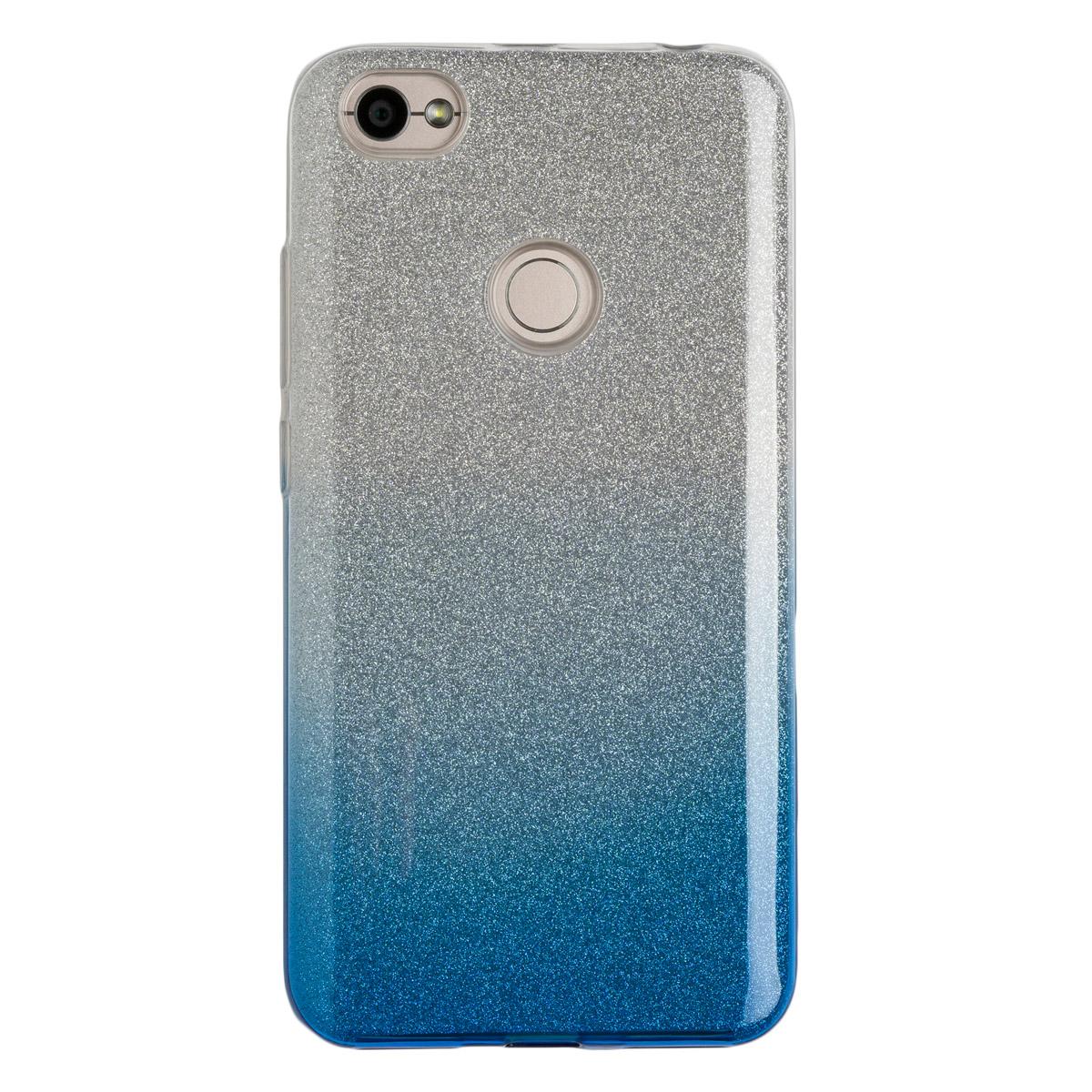 Силиконовый чехол для Redmi Note 5As Experts Brilliance (Голубой)