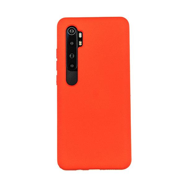 Чехол для Mi Note 10 Lite бампер CASE Liquid (Красный)