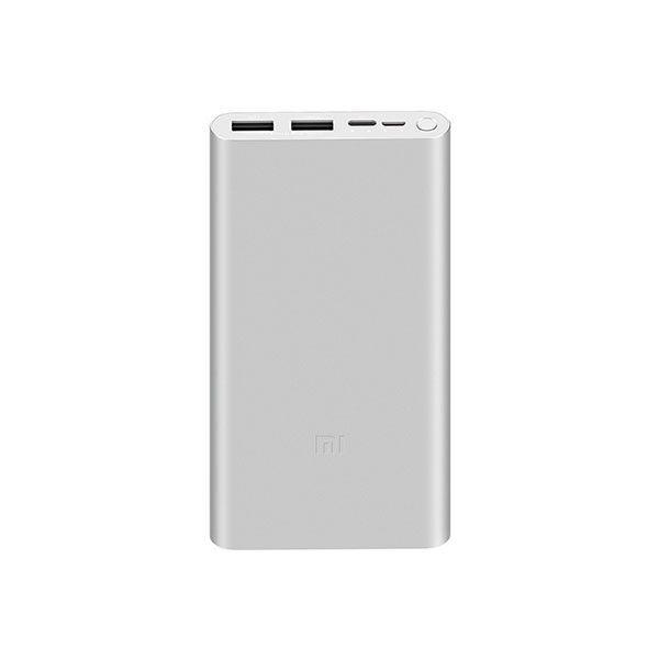 Аккумулятор Xiaomi Mi Power Bank 3 10000 мАч (Серебристый)
