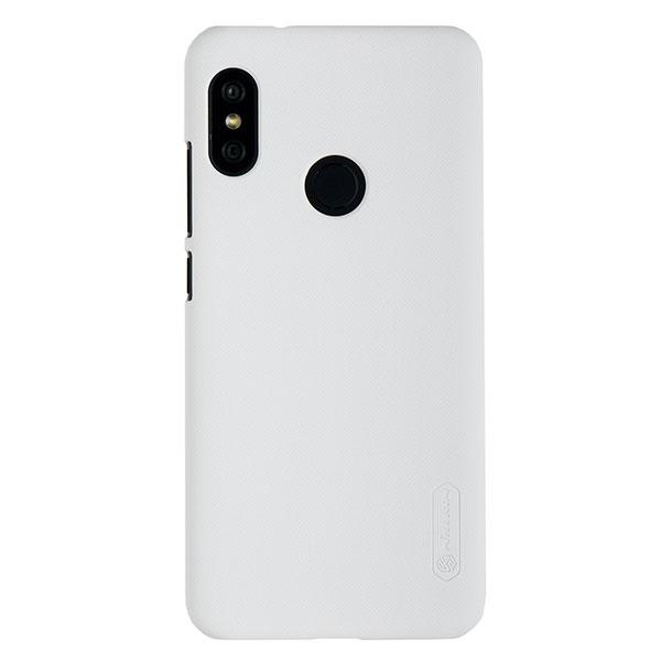 Чехол для Mi A2 Lite/Redmi 6 Pro бампер пластиковый Nillkin (Белый)