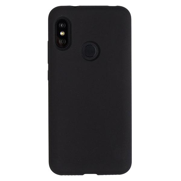 Силиконовый чехол для Mi A2 Lite/Redmi 6 Pro Soft Touch Experts (Черный)