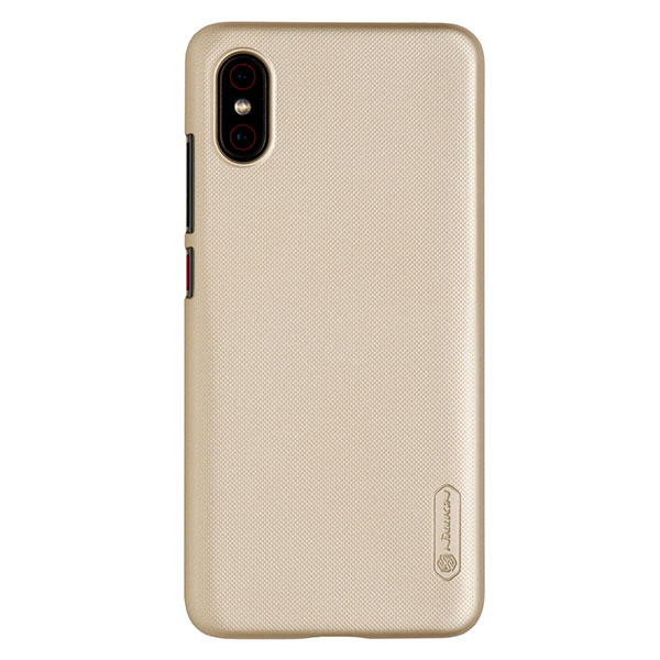 Чехол для Mi 8 Pro бампер пластиковый Nillkin (Золотой)