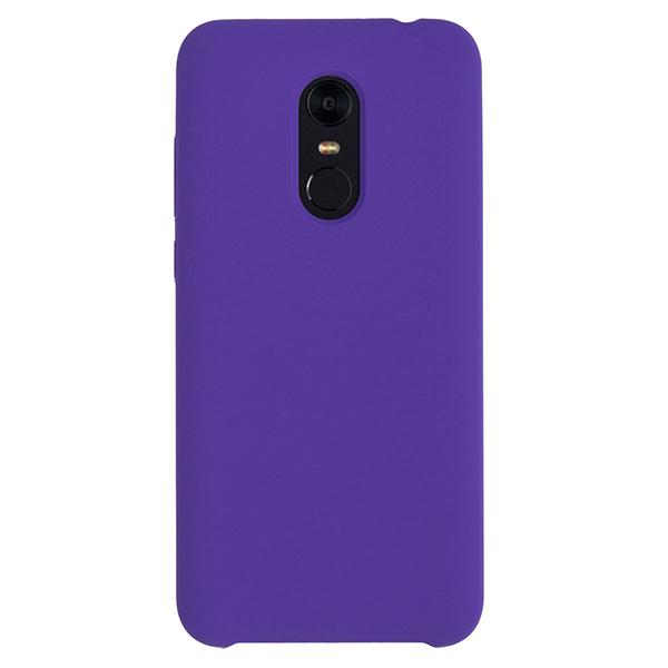 Силиконовый чехол для Redmi 5 Plus Soft Touch Experts (Фиолетовый)
