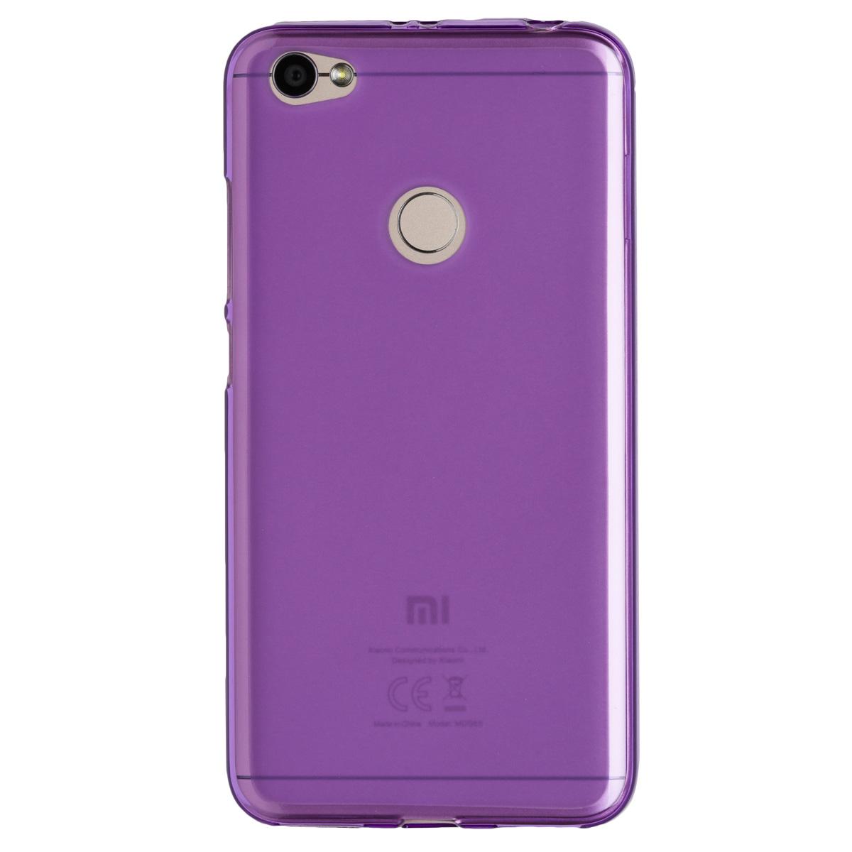 Силиконовый чехол для Redmi Note 5As Experts (Фиолетовый)