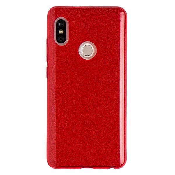 Силиконовый чехол для Redmi Note 5 Experts Diamond (Красный)
