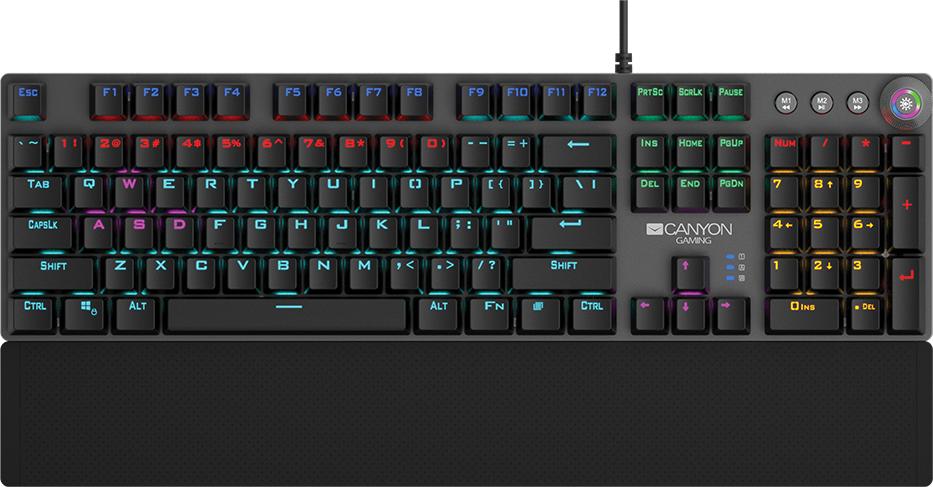 Игровая клавиатура CANYON CND-SKB7-RU