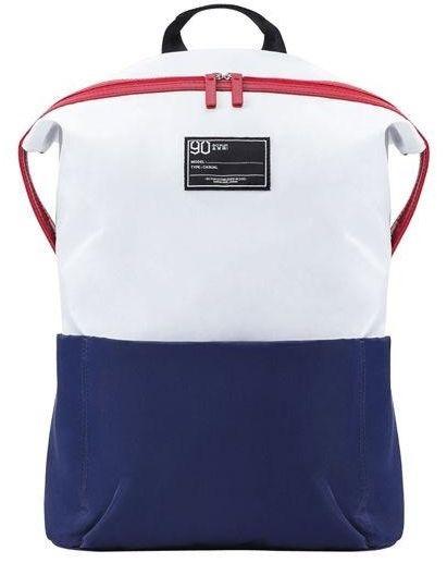 Рюкзак для ноутбука XIAOMI Ninetygo Lecturer Leisure Backpack 2082 (белый/синий)