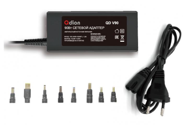 Универсальный адаптер питания QDION QD V90