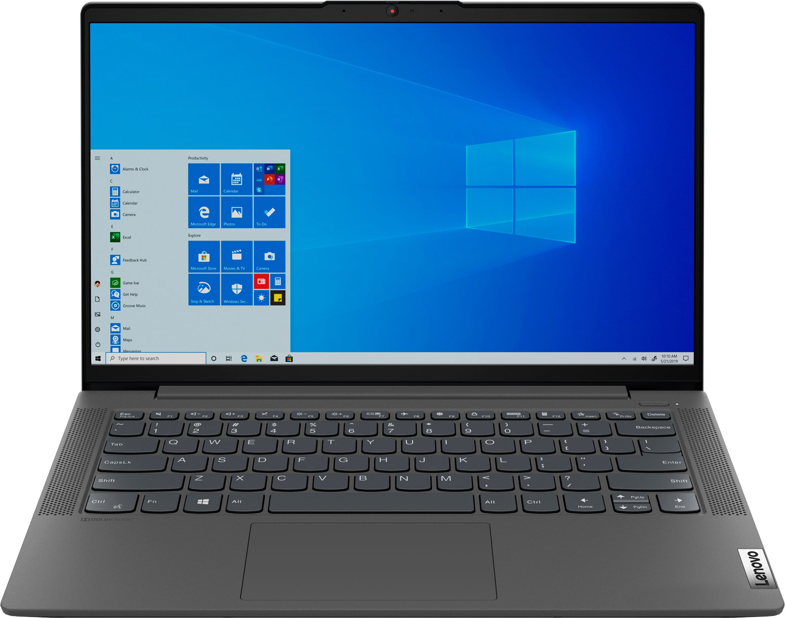 Ноутбук LENOVO IdeaPad 5 14IIL05 (81YH009MRK)