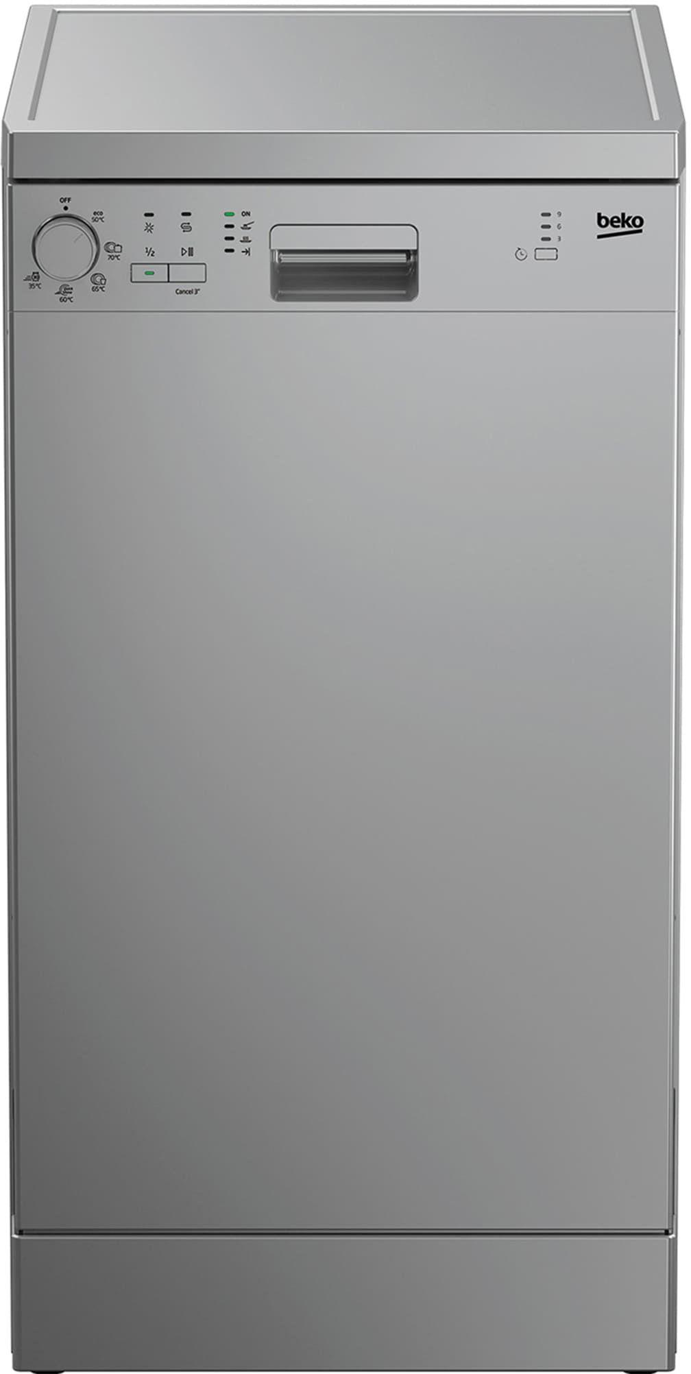 Узкая посудомоечная машина BEKO DFS05012S