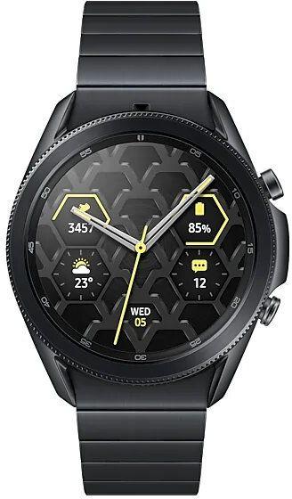 Умные часы SAMSUNG Galaxy Watch3 45мм (глубокий черный)