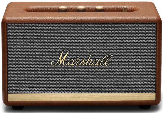 Акустика MARSHALL ACTON II Bluetooth (коричневый)