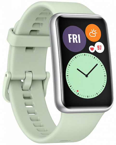 Умные часы HUAWEI Watch Fit TIA-B09 (мятный зеленый)