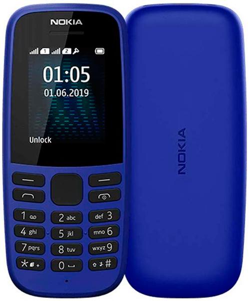 Мобильный телефон NOKIA 105 (2019) (синий)