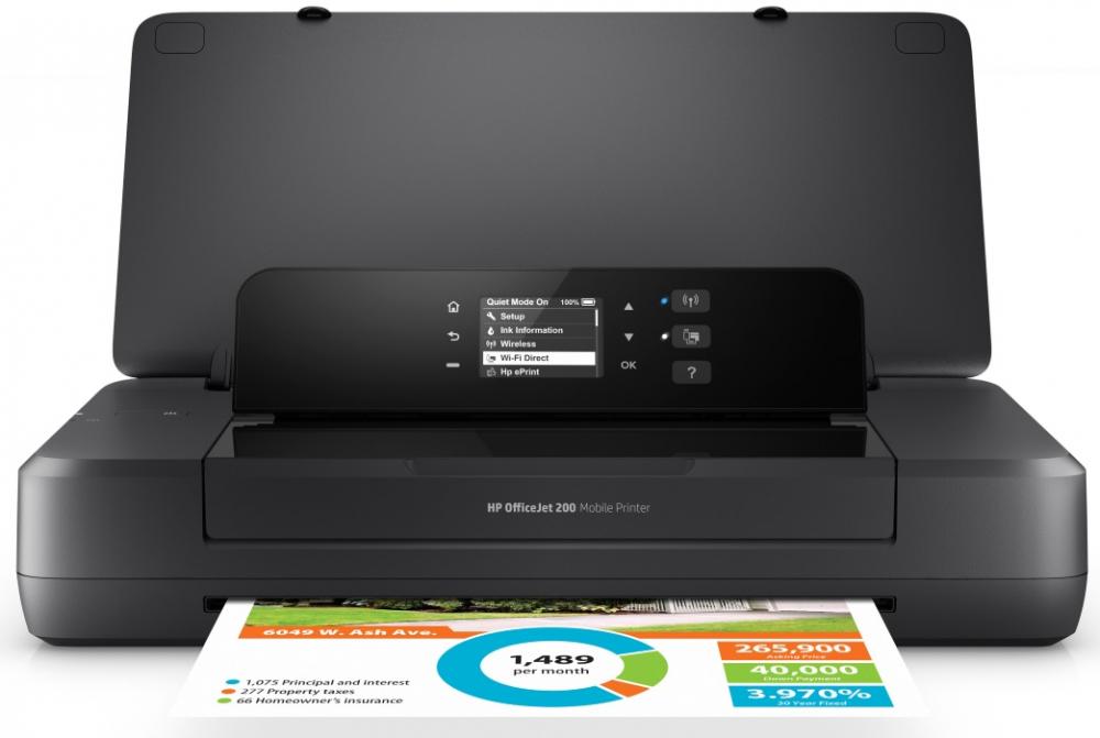 Струйный принтер HP OfficeJet 202 (N4K99C)