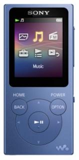 MP3 плеер SONY NWE394L.EE (синий)