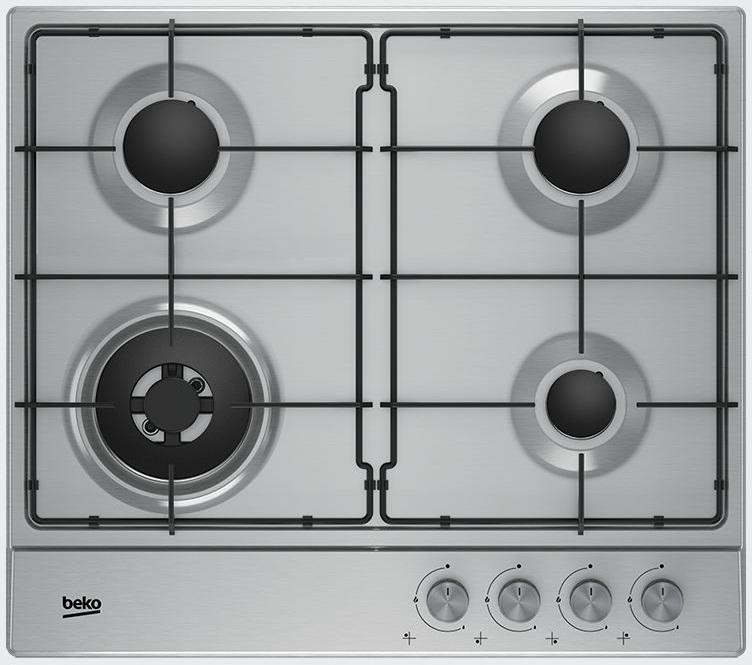 Варочная панель газовая BEKO HIAW 64223 SX