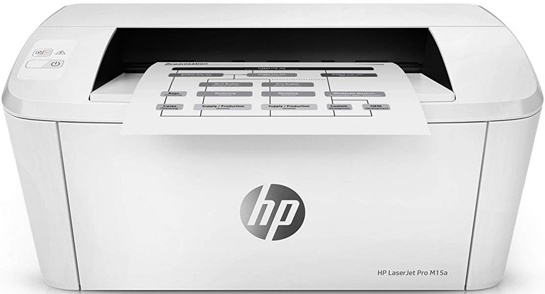 Лазерный принтер HP LaserJet Pro M15a (W2G50A)