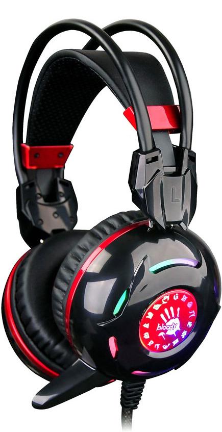 Игровая гарнитура A4TECH Bloody G300 (черный)