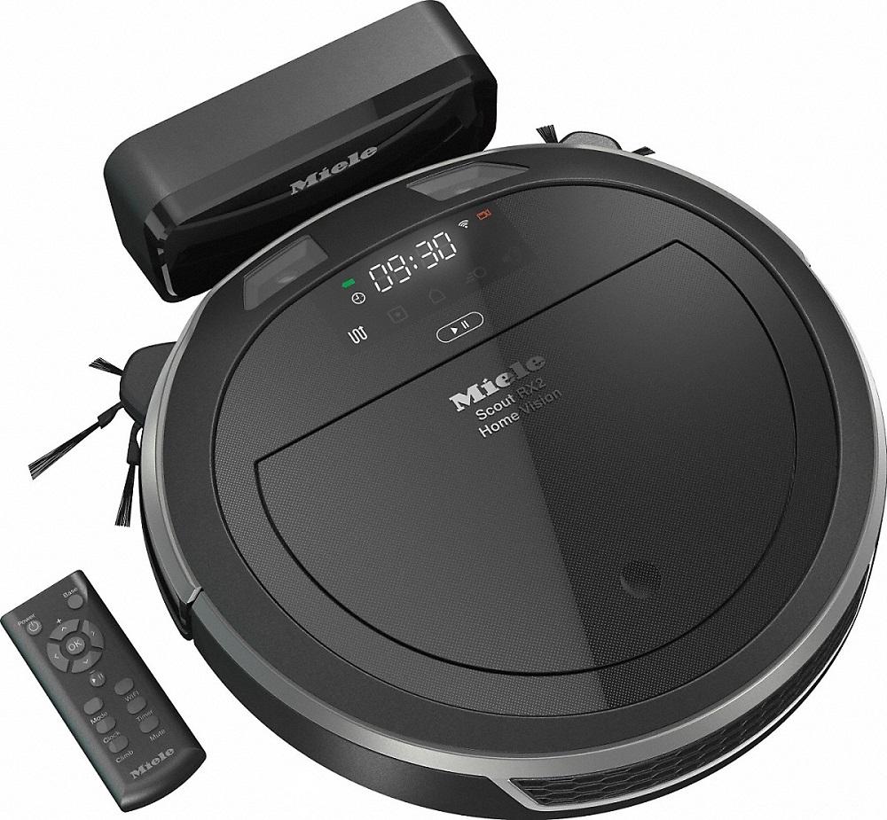 Робот-пылесос MIELE SLQL0 Scout RX2 Home Vision (графитовый серый)